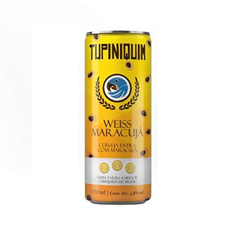 Cerveja Tupiniquim Weiss Maracujá 350ml