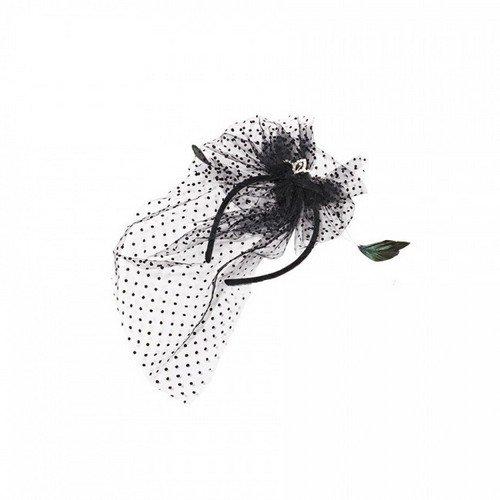 Halloween Headband - Black And White Version -