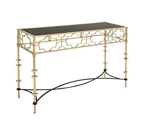 Deco 79 97710 Metal Glass Console Table, 48