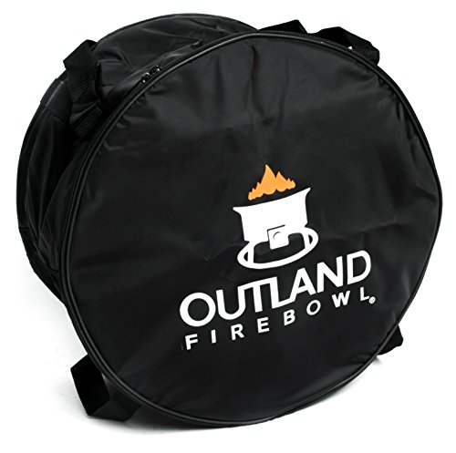 Outland Living 762 UV and Weather Resistant Cypress Carry Bag, Fits 21-Inch Diameter Outdoor Propane Gas Fire Pit, Black by Outland Living