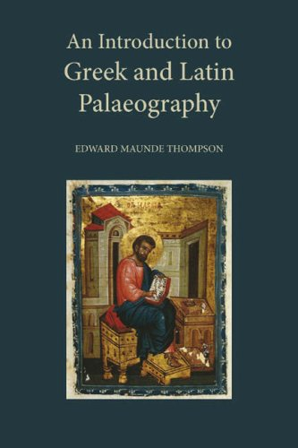 Download An Introduction to Greek and Latin Palaeography pdf epub