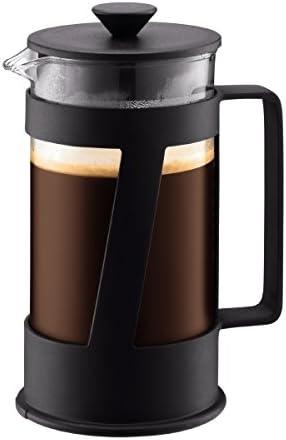 Bodum Crema Cafetera émbolo, Negro, Centimeters: Amazon.es: Hogar