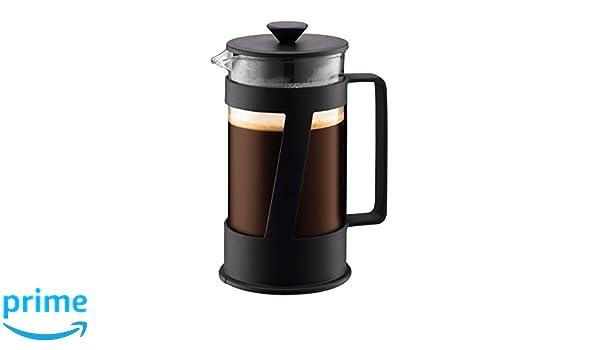 Bodum Crema Cafetera émbolo, Negro, Centimeters: Amazon.es ...