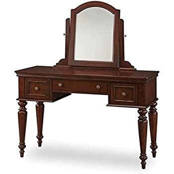 Amazon Com Home Styles 5537 70 Lafayette Vanity Table And