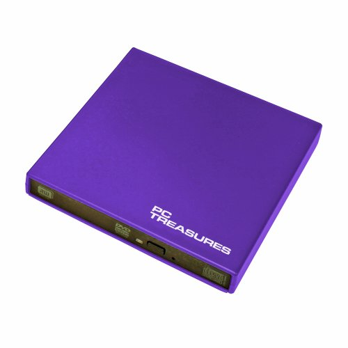 Pc Treasures 07188 Treasures External DVD/RW Drive - Purple