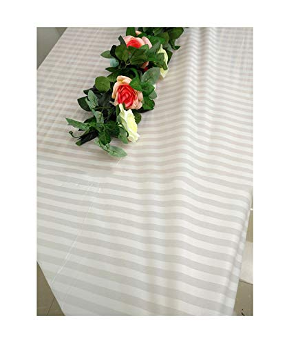 God of Fortune 1pcs Wedding Party Tablecloth Disposable Table Cloth Racing Flags Black and White Grid Thicken Plastic Table Cover 137X274cm,ZB589-06,1