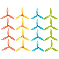 iFlight 8 Pairs/16pcs Nazgul T5061 High-Speed Tri-blade Propeller 5 5061 Prop CW CCW for FPV Racing Quadcopter Frame (Fluorescent Colors)