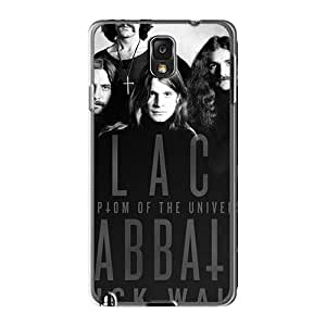 Shockproof Hard Phone Cases For Samsung Galaxy Note3 (Qox19687Bmhp) Support Personal Customs High Resolution Black Sabbath Band Image
