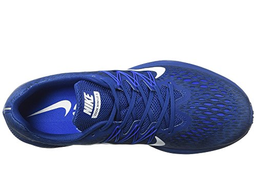 Zoom uomo Winflo bianco da da Scarpe Cobalt blu multicolore corsa 400 5 iper ossidiana palestra Nike ARdx0BwqA