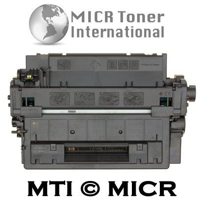 MTI © ECO Compatible HP CE255A (55A) MICR Toner Cartridge for HP LaserJet Printers: P3010, P3015, P3015n, P3015d, P3015dn, P3015x, P3016, M521dn, M521dw, MFP M525c, MFP M525dn, MFP M525f, Office Central