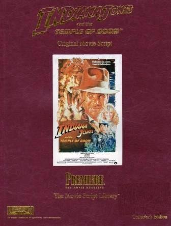 Indiana Jones and the Temple of Doom Original Movie Script Library Collector's Edition (Indiana Jones And The Temple Of Doom Script)