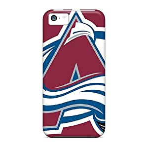 Durable Defender Cases For Iphone 5c Covers(colorado Avalanche)