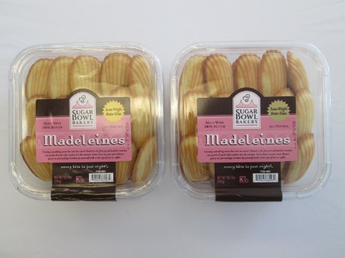 Sugarbowl Bakery All Natural Madeleines: 2 Pack of 28 Oz - - Bakery Cookies Sugar