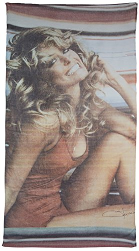 Official Farrah Fawcett Vintage-style Iconic Poster Image Edge-to-edge Print 100% Cotton Beach Towel