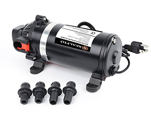 REALFLO AC110V/115V 160PSI 8L/min High Pressure Water Dia...