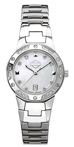 Harley-Davidson Bulova Women's Bracelet Watch. 76R103