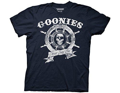 (Ripple Junction Goonies Ship Wheel Adult T-Shirt 3XL Navy)