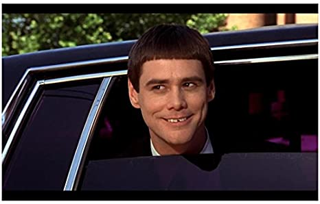 Dumb Dumber 1994 8inch X 10inch Photo Jim Carrey Sticking Head Out Car Window Kn At Amazon S Entertainment Collectibles Store