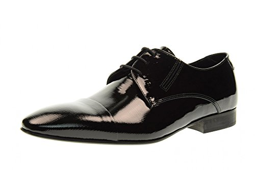 Eveet Chaussures Homme Dentelle 16521 Taille 44 Black