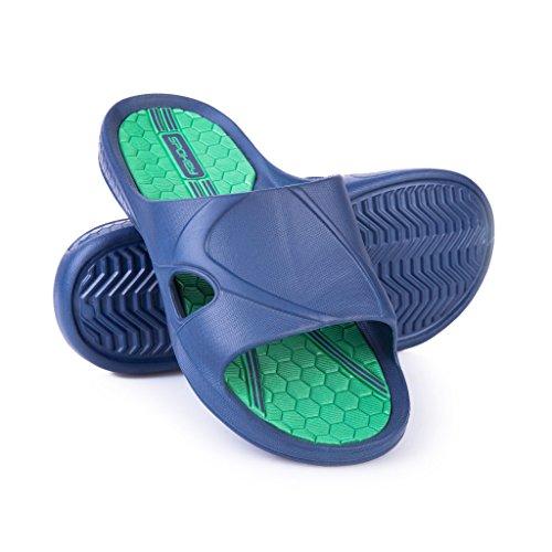 Spokey Herren-Badeschuhe ORBIT blau-grün