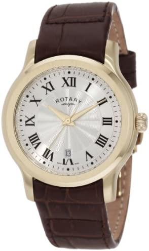 Rotary Men s GS00037 21 Timepieces Classic Strap Watch