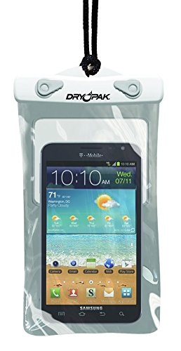 DRY PAK Dry Bag Case for Cell Phones, iPhone, Androids, 5″ x 8″