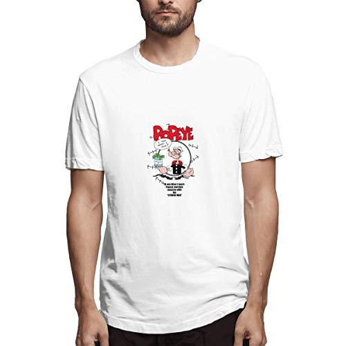 Thno Popeye Cartoon Betty Boop Sailor Cartoon Men's T-Shirts M -