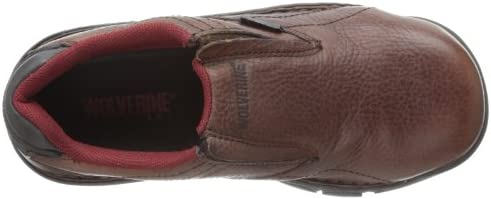 74bed54963f Wolverine Women's Ayah Comp Safety Toe Slip-On,Brown,6 M US: Amazon ...