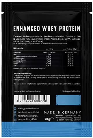 Enhanced Whey Protein (DELICIOUS CHOCOLATE PROBE)