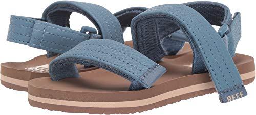 Reef Boys' Little AHI Convertible Sandal, tan/Navy, 910 M US ()
