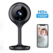 #LightningDeal MECO WiFi IP Camera 1080P HD Home IP Security Nanny Camera with Night Vision, Sound & Motion Detection, Security Surveillance 2.4GHz Pet Baby Monitor - Cloud Service Available