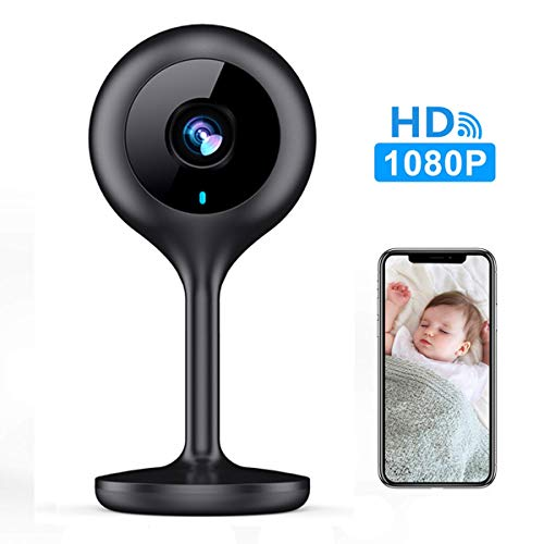 (MECO WiFi IP Camera 1080P HD Home IP Security Nanny Camera with Night Vision, Sound & Motion Detection, Security Surveillance 2.4GHz Pet Baby Monitor - Cloud Service Available)