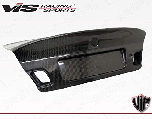 VIS Racing (VIS-TCV-306) Black Carbon Fiber Trunk CSL(Euro) Style for BMW 3 SERIES(E46) 2DR 99-05 ()