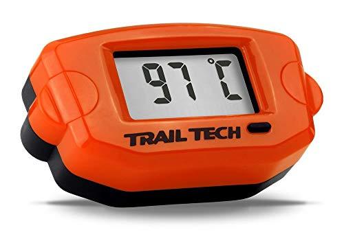 - Trail Tech 743-ET3 Orange TTO Surface Digital Temperature Gauge 14mm Spark Plug Sensor