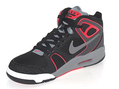 Nike Hombre - AIRE Vuelo Falcon - Negro Gris Rojo