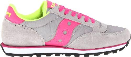 Pro Womens Jazz Saucony Saucony Pink Sneaker Low Grey Originals Originals OwYxn
