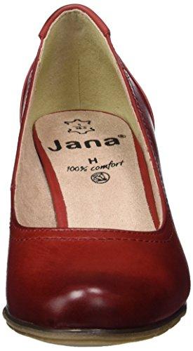 Jana 8-8-22404-28, Zapatos de Tacón Mujer Rojo (Chili 533)