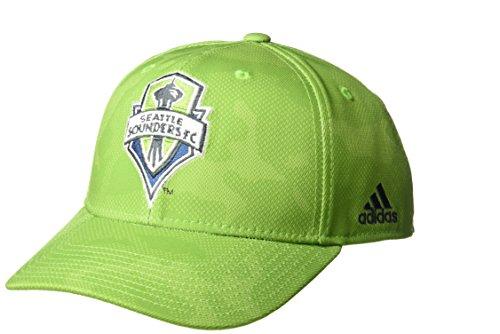 MLS Seattle Sounders FC Adult Men MLS SP17 Fan Wear Tonal Camo Structured Adjustable Cap,OSFM,Green