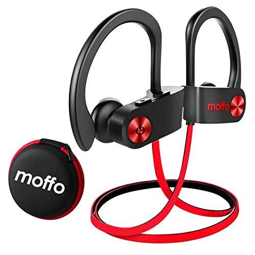 Wireless Headphone - Moffo Sport Stereo in Ear Earbuds (2020 Upgrade Version), IPX7 Waterproof Headset with Built-in