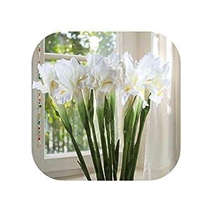20Pcs Artificial Flower Iris Decorative Fake Flowers Display Flower for Home Wedding Decoration 114