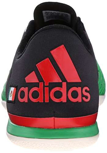 Adidas Performance X 15.2 zapatos de fútbol Ct, Core Negro / flash rojo S15 / solar verde, 6,5 M co Green/Black/White