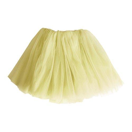 Rans L Falda de Tul Tutú Gasa Faldas Vestido Princesa para Niña ...