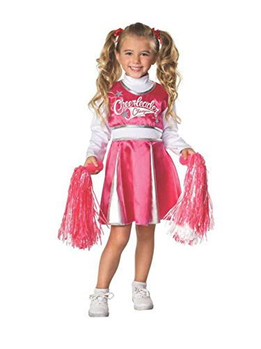 Rubie's Let's Pretend Child's Cheerleader Camp Costume, Toddler