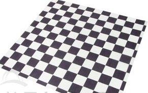 Food Grade Tissue Paper, Black & White Check ()