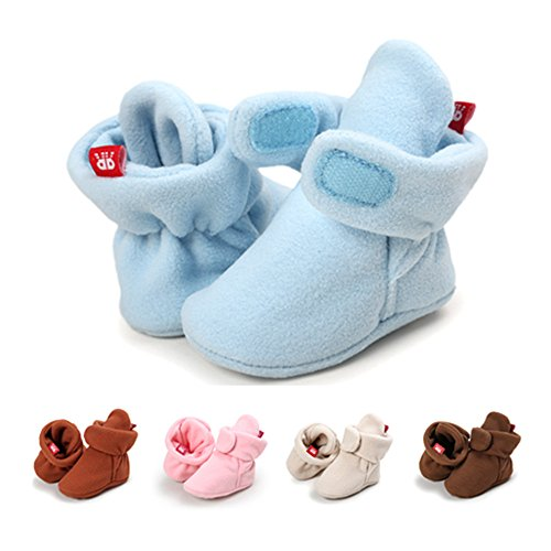 isbasic-unisex-baby-fleece-lined-bootie-non-skid-infant-winter-shoes