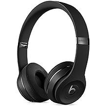 [Patrocinado] Auriculares cobertores de oreja inalámbricos Beats Solo3 On-Ear Headphones M Negro
