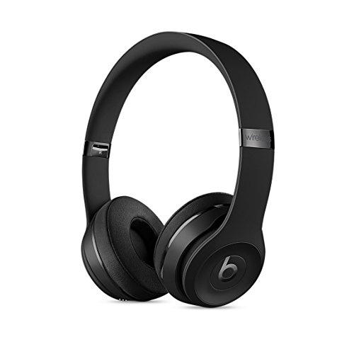 : Beats Solo3 Wireless On-Ear Headphones - Black