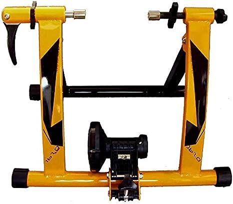 GRJKZYAM Bicicleta Estática Soporte Rodillo, Bicicleta Estática Soporte Rodillo De Ciclismo Entrenamiento Plegable: Amazon.es: Deportes y aire libre