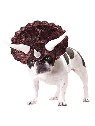 Triceratops Pet Pet Costume - Medium ()