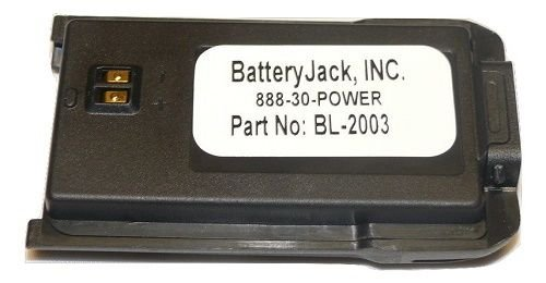 Replaces for HYT TC-508 Commercial Portable Two Way Radio Battery BL1719 2000mAh